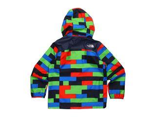 North Face Kids Boys Printed Resolve Jacket 12 (Little Kids/Big Kids
