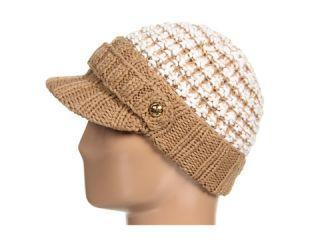 MICHAEL Michael Kors Michael Kors Signature Button Peak Hat