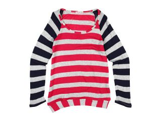 Splendid Littles Rugby Stripe L/S Tunic (Big Kids) $74.00 Splendid