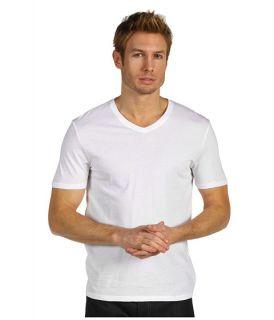 Vince Solid Jersey Short Sleeve V Neck Tee $45.00
