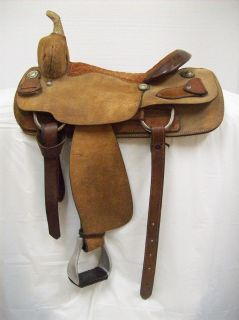 Billy Cook 16 Used All Around Western Saddle 7519 Full Quarter Horse