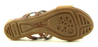 COLE HAAN WHITNEY Brown Woodbury Gladiator Womens Shoes Sandals 7