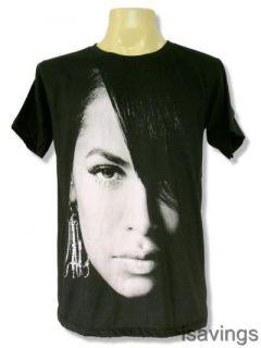 Aaliyah T Shirt Urban Pop Queen R B Soul Black s M L Princess Music