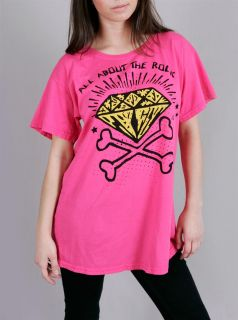 ABBEY DAWN AVRIL LAVIGNE All About The Rock Skull Tee M NWT+ FREE
