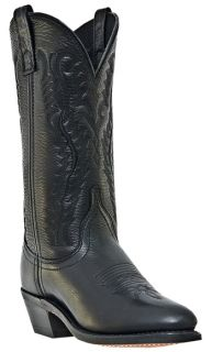 Cowboy Boots Black Medium B M Laredo Abby 51071 Round Toe