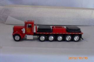 Hartsmith A Smith Peterbuilt 12x4 Flatbed w load ALL TRANSPORT MIB