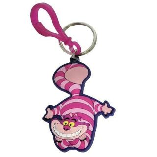 Alice in Wonderland Cheshire Cat Lazer Cut Key Ring MG A25