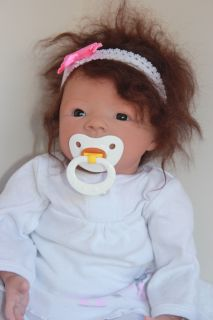 Reborn Baby Girl Aaliyah Morgan sculpt by A.Peterson ~Emerald Hill
