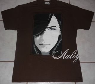 AALIYAH Rare Official vtg t shirt concert tour