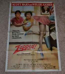 Movie Poster 1sheet 1sh Scott Baio Willie Aames Heather Thomas