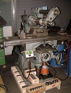 Abene Model VHF 2B Precision Horizontal Milling Machine