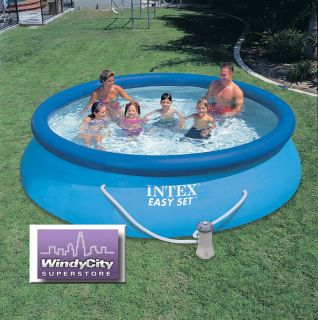 12 x 30 Intex Easy Set Above Ground Swimming Pool Pump