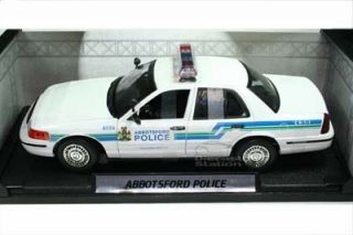 Ford Crown Victoria Abbotsford Police Car 1 18 White