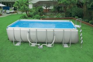52 Ultra Frame Rectangular Swimming Pool Complete Set 54481EG