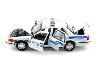 18 2001 Ford Crown Victoria Abbotsford Police Interceptor Car 73507