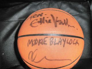 Basketball by 7 Exact Proof COA Eddie Vedder Dave Abbruzzese