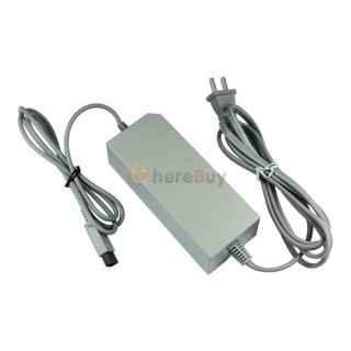 For Nintendo Wii AC Adapter Power Cord Cable Supply USA