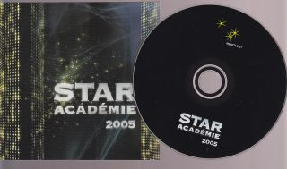 Star Academie 2005 CD 2005 Quebec Pop TV Show French American Idol 15