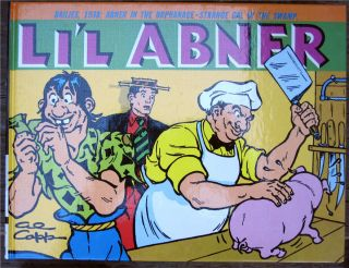 LiL Abner Dailies Vol 4 1938 Hardcover 1st Al Capp New Lil Abner