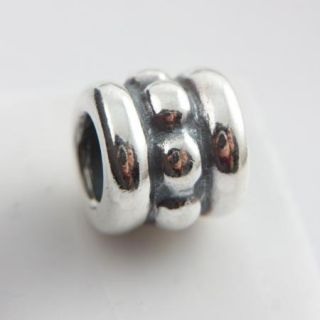New Authentic Pandora Silver Row Dots Bead Retired 79162