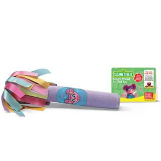 NEW Sesame Street Abby Cadabby Plush Magic Wand Sound Toy   9 in.
