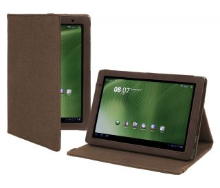 Cover Up Acer Iconia Tab A500 A501 Tablet Natural Hemp Case Cocoa