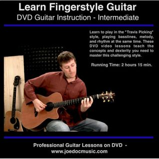 Learn to Play Fingerstyle Guitar DVD Acoustic Lessons