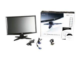 Acer G215HVABD Black 21 5 Full HD Widescreen LCD Monitor
