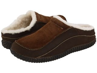 Acorn Mens Sheep Mule Slip on Slippers Shoes Brown Size 9