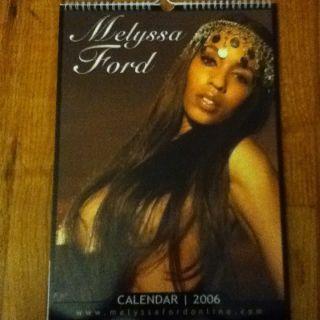 NEW 2006 Melyssa Ford Calendar  Rosa Acosta Vida Guerra Model