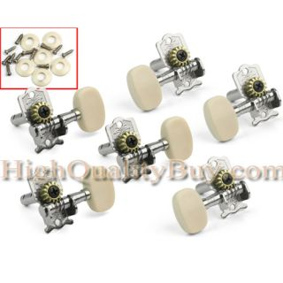 New 6X Acoustic Guitar Tuning Keys Pegs Machine Heads Tuner