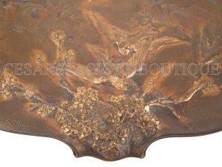 Sanglan French Bronze Art Nouveau Deco 5pc Collection