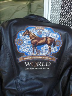 AQHA 2008 World Show Jacket Quarter Horse Halter Award