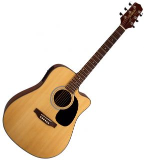 Takamine Jasmine ES33C Acoustic Electric Guitar w Case