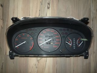 JDM Honda Civic SI Sir Acura El A T Instrument Cluster Speedometer