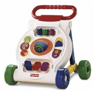 Fisher Price Baby Grow Walker Beginnings Drive Activity