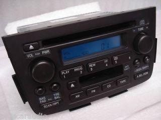 01 02 03 04 Acura MDX Bose Radio Stereo Tape Cassette CD Player 39101