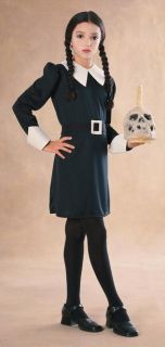 Addams Family Wednesday Childs Costume Classic Addams Family Costume