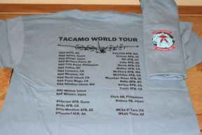 tacamo world tour t shirt vq 3 this item is in stock