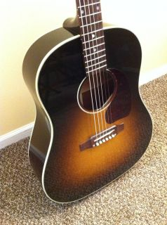 2011 Gibson J 45 Standard Acoustic Electric Guitar with K K Mini