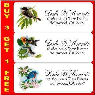 Birds Assortment 1 Return Address Labels Address Stickers