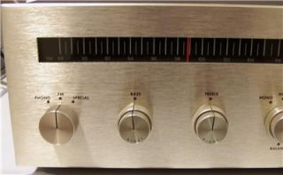 Vintage AR Acoustic Research Model R Stereo Receiver Nice Working
