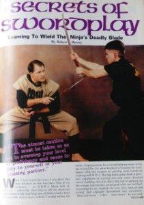 93 Ninja Masters Mike Stone Maasaki Hatsumi Black Belt Karate