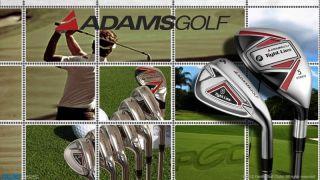 New Adams Tight Lies Mens Golf Clubs Complete Hybrid Iron Set 5 PW SW