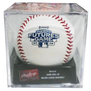 STAR FUTURES GAME OFFICIAL MLB BASEBALL ACRYLIC DISPLAY CASE CUBE NEW
