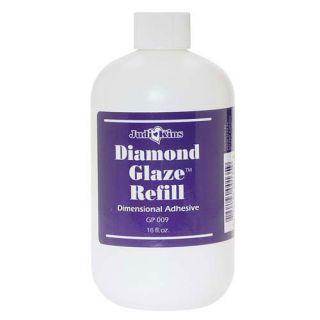 Judikins Diamond Glaze Water Based Adhesive Refill 16oz