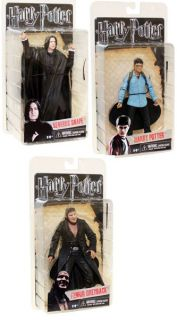 at Harry Potter Deathly Hallows Series 1 Action Figure Set of 3