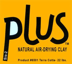 activa air dry terracotta plus clay 22 lb bulk