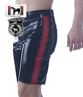Squeeze Dog Latex Gummi Rubber Active Biker Cycle Shorts