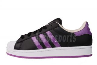 Adidas Originals Superstar 2 w Black Purple Womens Casual Shoes G63097